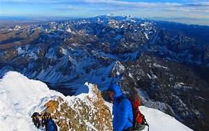 Climbing Huayna Potosi  6088m  3 Days