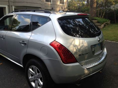 buy car manuals 2006 nissan murano engine control sell used 2006 nissan murano sl 77 000 miles silver in ridgewood new jersey united states