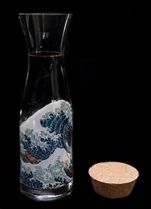 Carafe En Verre : carafe en verre hokusai ~ Teatrodelosmanantiales.com Idées de Décoration