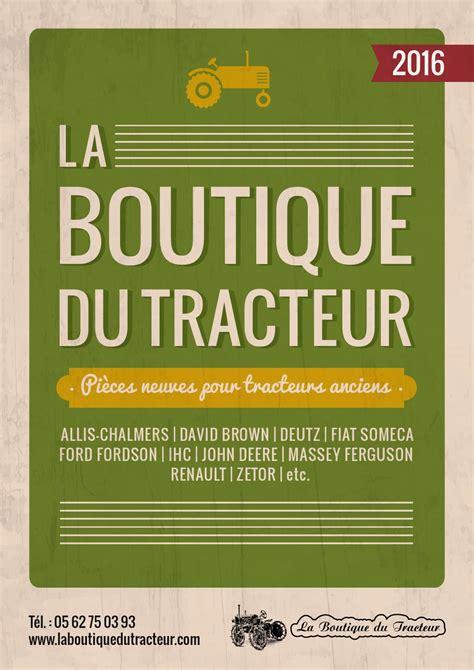 catalogue la boutique du tracteur   octave octave
