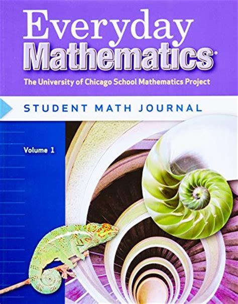 Everyday Mathematics, Grade 6 Student Math Journal, Vol 1