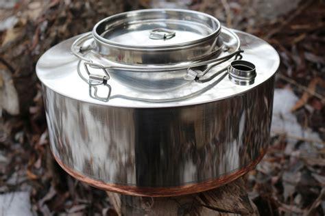 eagle norwegian big mountain kettle stainless steel  bushcraft canada