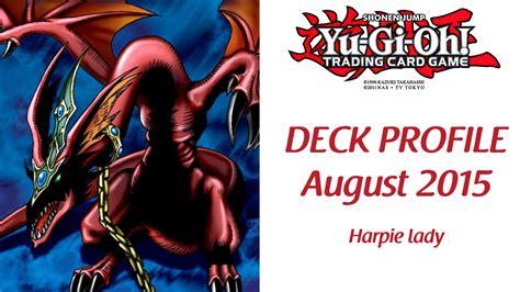 yugioh harpie deck 2015 yu gi oh best harpie deck profile august 2015