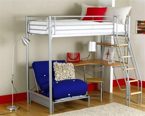 bunk bed with desk for adults edgy loft beds with desk design ideas