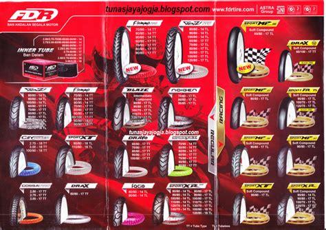 Harga Merk Ban Fdr daftar harga ban motor fdr terbaru harga ban terbaru