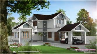 beautiful houses design 1922 sq ft storied villa home kerala plans