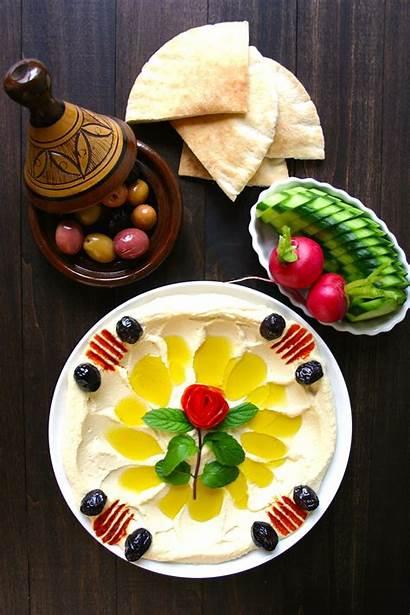Hummus Basic Recipe Landsandflavors Flavors Authentic حمص