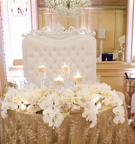 stylish sweetheart table decorations weddings romantique