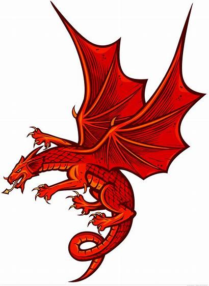 Dragon Flying Vector Graphics Cartoon Clipart Funny