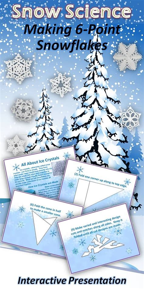 great snow science lesson  instructions