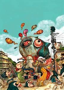The Crazy Creations Of Leong Wan Kok  U00ab Illustration