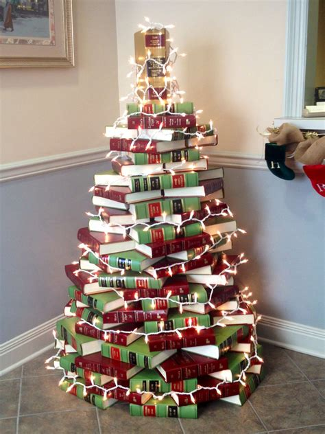 law offices law book christmas tree unique tree