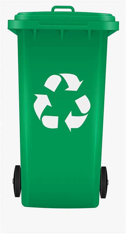 Bin Recycling Recycle Clip Rubbish Clipart Transparent