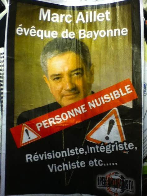 chambre d h e bayonne une odieuse agression contre l évêque de bayonne l
