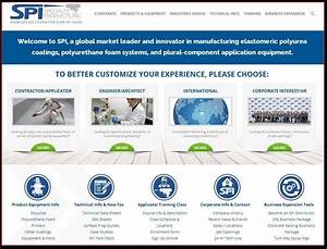 Specialty Products Inc  Launches New Website With User