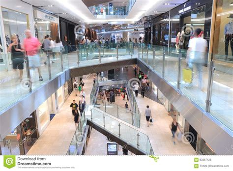 christmas shopping melbourne australia editorial stock