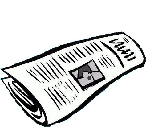 Newspaper Clipart Blank Newspaper Clipart Clipart Panda Free Clipart Images