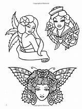 Coloring Tattoo Classic Books Designs Fairy Eric Adult Colouring sketch template