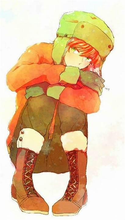 Kyle Park South Broflovski Anime Reader Fanart