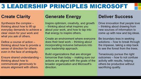 leadership principles  microsoft  satya nadella