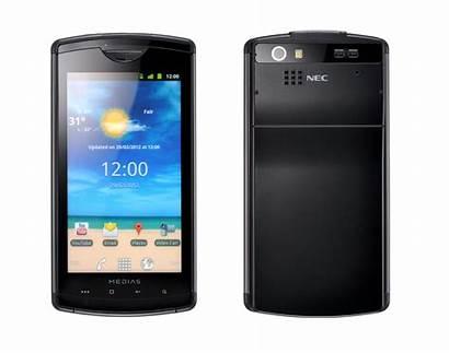 Nec Medias Smartphone Launches Dust Proof Thailand
