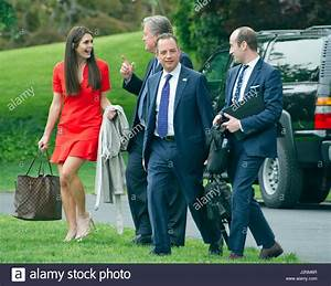 From left to right: Hope Hicks, White House Director of ...
