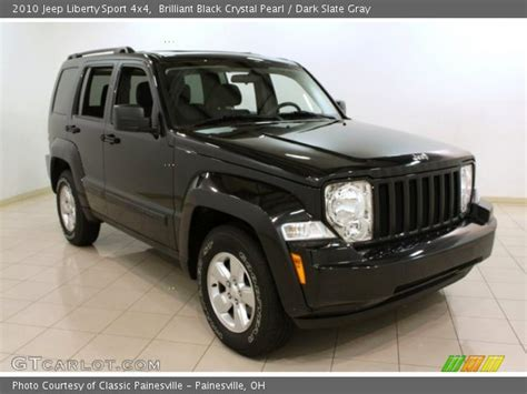 black jeep liberty interior brilliant black crystal pearl 2010 jeep liberty sport