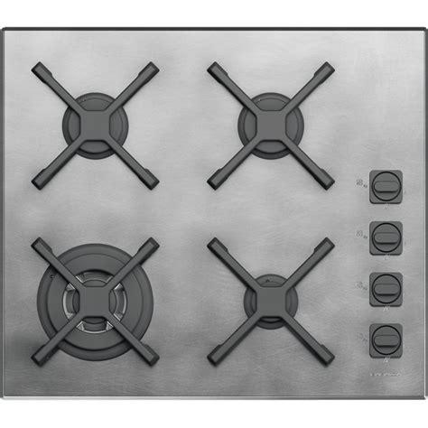 barazza piano cottura barazza 1pun64 incasso gas nero acciaio inossidabile