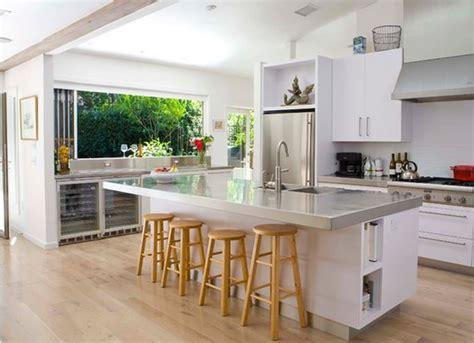 table haute de cuisine ikea cuisine americaine avec ilot deco maison moderne