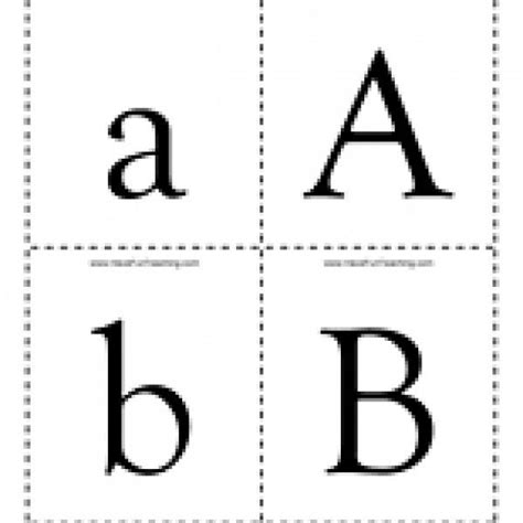 alphabet uppercase  lowercase flash cards  images