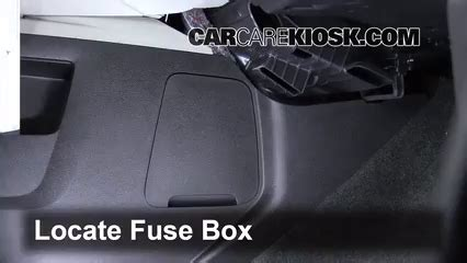 Chevy Expres Fuse Box Replacement by Interior Fuse Box Location 2010 2015 Chevrolet Equinox