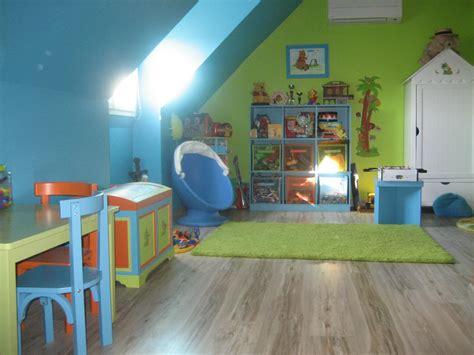 chambre bébé verte chambre verte et bleu