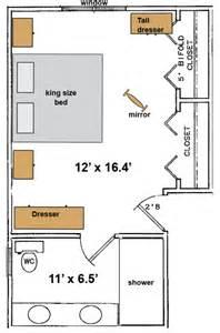 Master Bedroom Layout