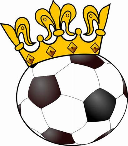 Soccer Ball Crown Clipart Sports Clip Balls