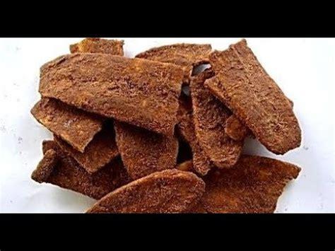 resep keripik pisang coklat  renyah  enak youtube