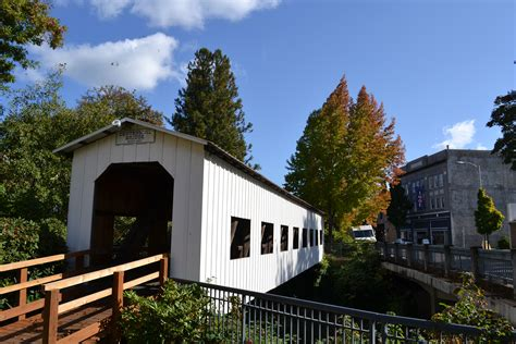 cottage grove or file centennial bridge cottage grove oregon jpg