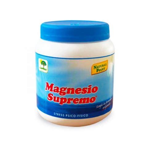 Magnesio Supremo In Farmacia by Magnesio Supremo Polvere 300g Farmacia