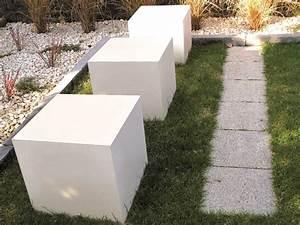 Beton Versiegeln Außenbereich : design beton w rfel steine im garten shop ~ Sanjose-hotels-ca.com Haus und Dekorationen