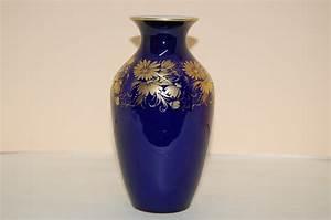 Echt Kobalt Vase : vase 18 cm echt kobalt gold hutschenreuther cm hohenberg ~ Michelbontemps.com Haus und Dekorationen