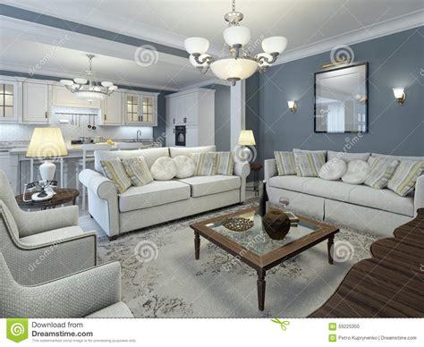 Wohnzimmer Lounge Stil lounge room mediterranean style stock photo image of