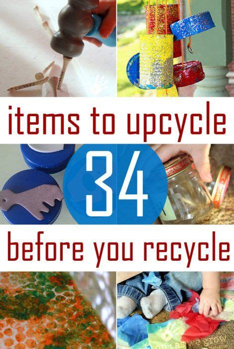 Recycling Und Upcycling Inspirationen by 34 Recycled Crafts Activities On As We