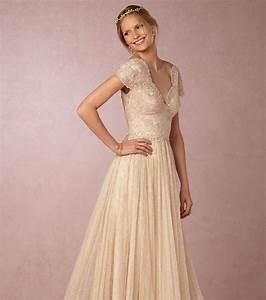 photo robe de mariee dentelle vintage bhldn With robe de mariée vintage dentelle