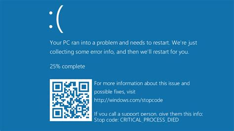microsoft adds qr codes   windows  blue screen
