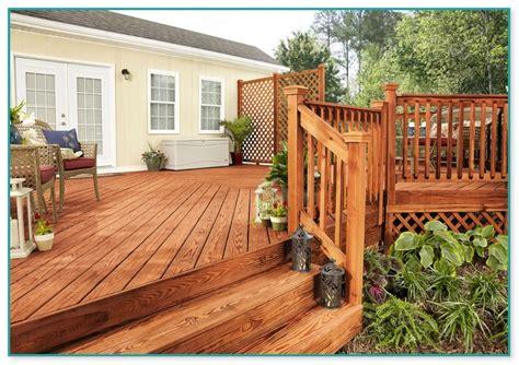 stain color  cedar deck