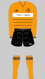 Livingston - Historical Football Kits
