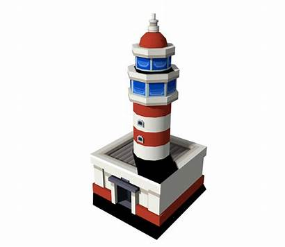 Lighthouse Vista Beacon Sinnoh Resource Models Location