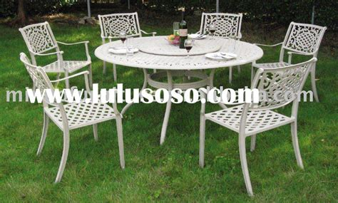 cast aluminum outdoor furniture cast aluminum outdoor