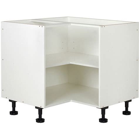 Flat Pack Laundry Cupboards Bunnings by Kaboodle Kitset 900x900mm Base Corner White Bunnings