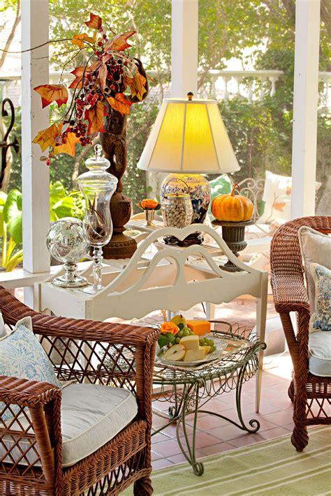 nell hills garden room fall relaxing spot autumn fall decor autumn home decor