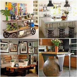 Diy, Industrial, Furniture, Ideas, For, Your, Home